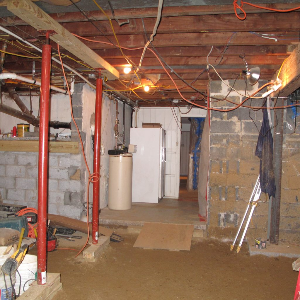 Crawl Space Conversion