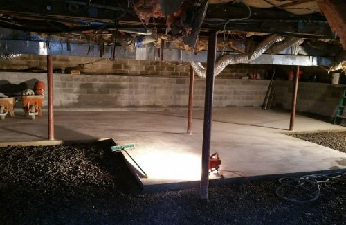 Crawlspace Conversion